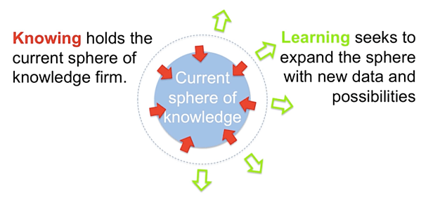 Knowing vs Learning NSR Blog Image